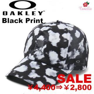 オークリー(Oakley)の新品 オークリー スカル グラフィック キャップ BKP(キャップ)