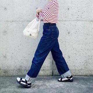 セントジェームス(SAINT JAMES)のセントジェームス  赤白 T3(Tシャツ(長袖/七分))