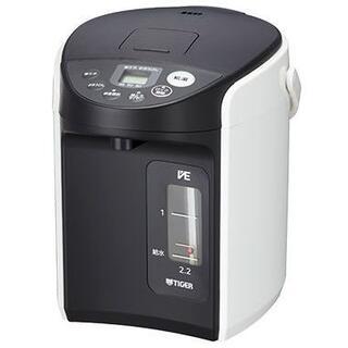 タイガー(TIGER)の新品未開封VE電気まほうびん とく子さん PIQ-A220(電気ポット)