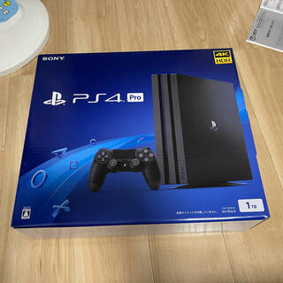 PlayStation4 - PS4 Pro ジェット・ブラック 1TB CUH-7200BB01