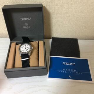 セイコー(SEIKO)のnano universe『セイコーセレクション SUSデザイン復刻モデル』(腕時計(アナログ))