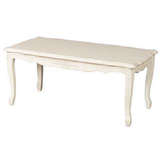 フランフラン(Francfranc)のフィオーレ センターテーブル ロココ調 輸入家具 姫系家具 猫足家具 (ダイニングテーブル)