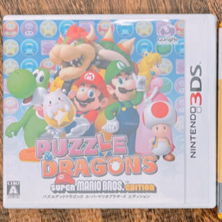 ニンテンドー3DS(ニンテンドー3DS)の★ パズドラ スーパーマリオブラザーズ エディション) 3DS(携帯用ゲームソフト)