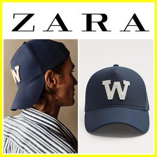 ザラ(ZARA)の完売■人気■未使用品■ZARA キャップ CAP アルファベッド ロゴ 限定(キャップ)