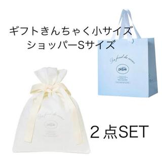 ジェラートピケ(gelato pique)のジェラートピケ⭐︎ギフト巾着Sサイズ&ショッパー ギフトカード付き♡(ショップ袋)