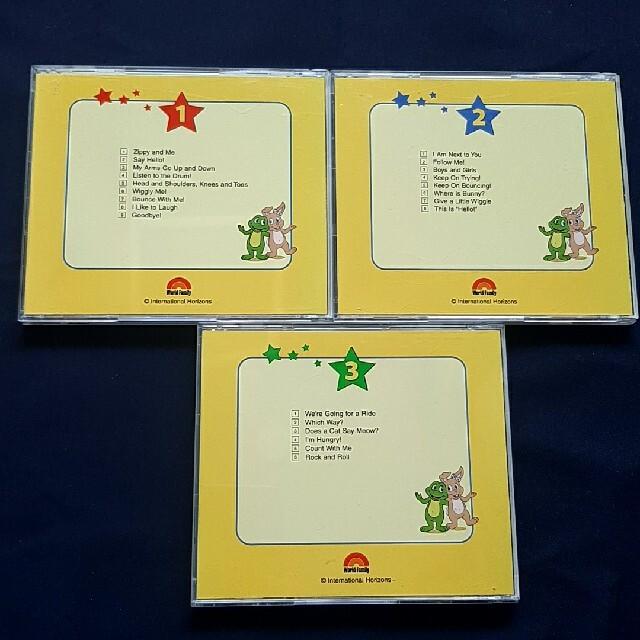 Disney(ディズニー)のZIPPY AND ME CD & DVD セット エンタメ/ホビーのDVD/ブルーレイ(キッズ/ファミリー)の商品写真