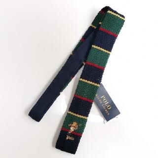 ラルフローレン(Ralph Lauren)のRALPH LAUREN ポロベア ネクタイ イタリア製 メンズ 正規品(ネクタイ)