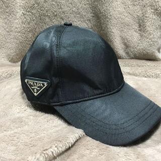 PRADA - 送料無料 PRADA プラダ ブラック キャップ 野球帽子