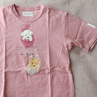 PINK HOUSE - ピンクハウス Tシャツ 人気のバンダナ犬柄!
