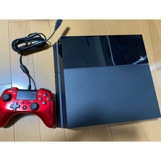 PlayStation4 - PS4 jet Black 500GB + HORIコントローラー + FF15