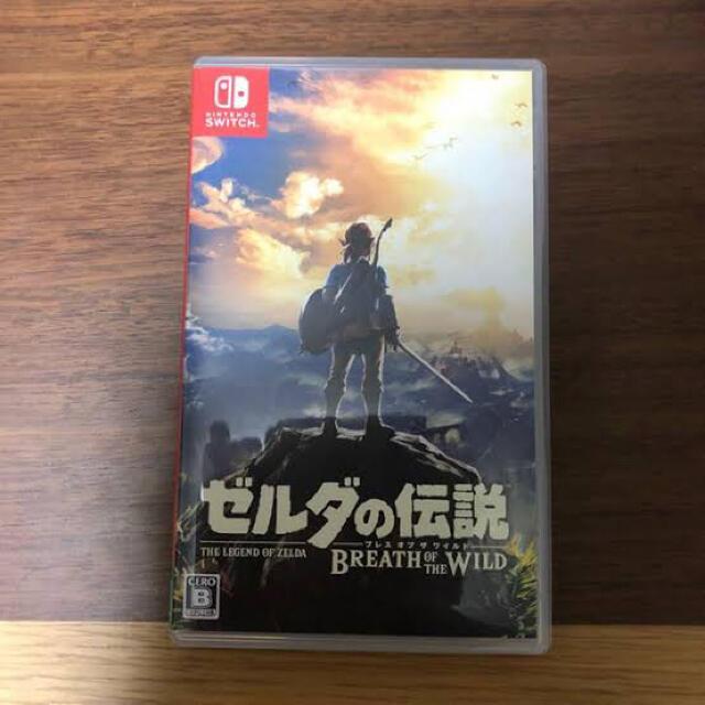 Nintendo Switch(ニンテンドースイッチ)のゼルダの伝説 ブレス オブ ザ ワイルド Switch」 エンタメ/ホビーのゲームソフト/ゲーム機本体(携帯用ゲームソフト)の商品写真
