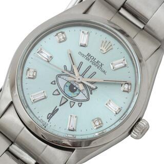 ROLEX - ロレックス ROLEX オイスターパーペチュアル 腕時計 メンズ【中古】