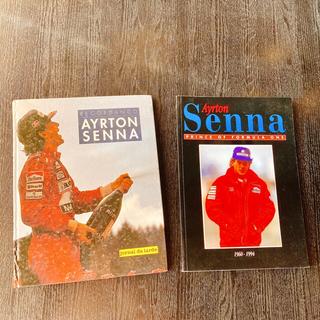 アイルトン セナ 写真集 2冊セット(モータースポーツ)