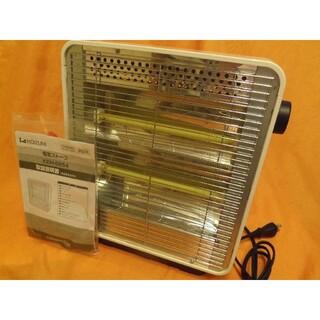 コイズミ(KOIZUMI)のKOIZUMI■シンプルな電機ストーブ■暖房■KEH-0854■白■二段ヒーター(電気ヒーター)
