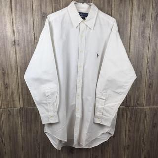 Ralph Lauren - Ralph Lauren ボタンダウン シャツ ホワイト XLサイズ