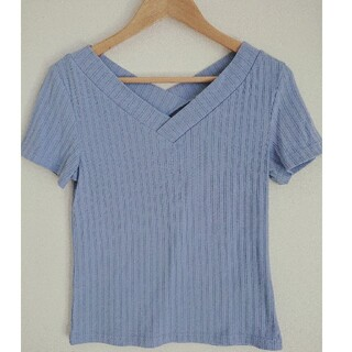 ロペピクニック(Rope' Picnic)のロペピクニック Vネックリブ半袖(Tシャツ(半袖/袖なし))