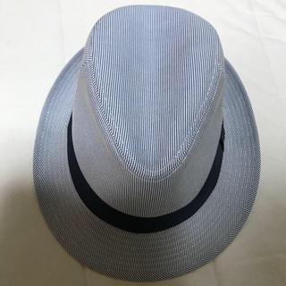 ユニクロ(UNIQLO)の中折れハット 中折れ帽 ユニクロ 美品(ハット)