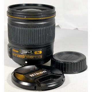 Nikon - Nikon AF-S NIKKOR 28mm 1.8G N