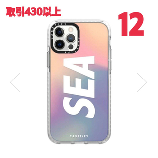 CASETIFY WIND AND SEA iPhone 12 CASE