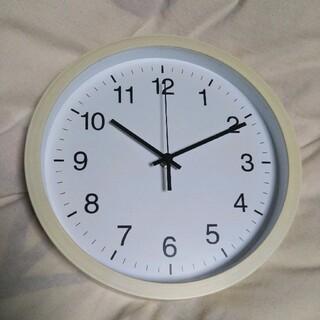 ニトリ(ニトリ)の【ジャンク品】ニトリ 壁掛け時計 静音(掛時計/柱時計)