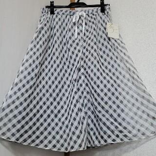 ジユウク(自由区)の難あり 新品 自由区 スカート(ひざ丈スカート)
