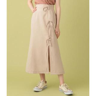 デイシー(deicy)のdeicy  me couture リボンラップミディスカート 新品未使用(ロングスカート)