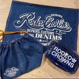 ロデオクラウンズワイドボウル(RODEO CROWNS WIDE BOWL)のロデオ★ノベルティ!!ランチデニムset(弁当用品)