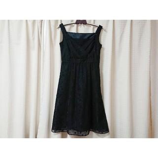 エニィスィス(anySiS)のanySiS エニィスィス ドレス ワンピース ブラック 3 L M(ミディアムドレス)