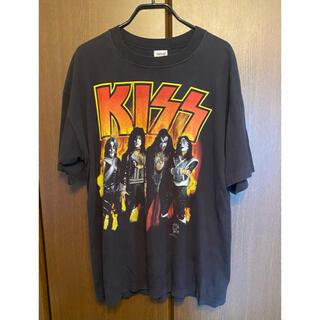 アンビル(Anvil)のKISS 90s vintage  ヴィンテージ Tシャツ anvil(Tシャツ/カットソー(半袖/袖なし))