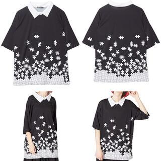 アンコロック(ankoROCK)のアンコロック バラバラパズル Tシャツ Fサイズ(Tシャツ(半袖/袖なし))
