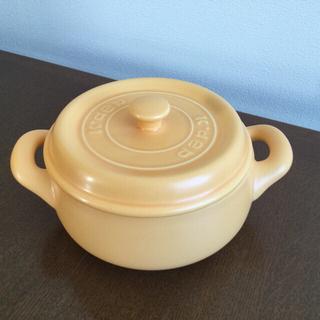 K+dep ケデップ セラウエア 黄色 耐熱 セラミック 鍋 陶器鍋 オーブン可