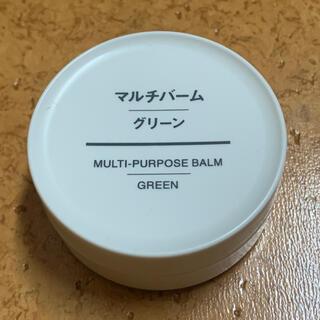 ムジルシリョウヒン(MUJI (無印良品))の無印良品 マルチバーム グリーン 18g(フェイスオイル/バーム)