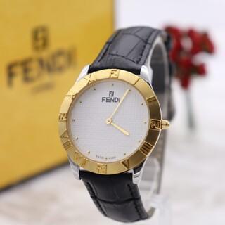 フェンディ(FENDI)の付属品付き【新品電池】FENDI 2000G/人気モデル ズッカ柄 動作品 美品(腕時計(アナログ))
