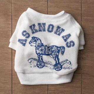 アズノゥアズオオラカ(AS KNOW AS olaca)のアズノゥアズ Tシャツ 犬服 ペット ペット服 トップス (犬)