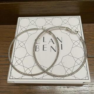 エストネーション(ESTNATION)の【CLAN  BENI】クランベニ♡フープピアス(ピアス)