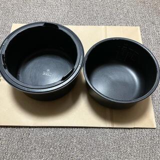 バルミューダ(BALMUDA)のバルミューダ 炊飯器 内釜 外釜(炊飯器)