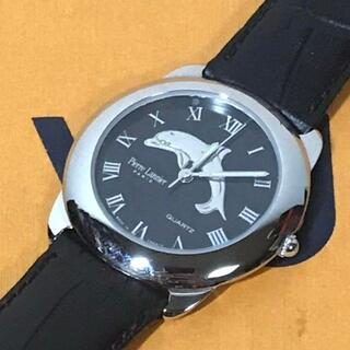 ピエールラニエ(Pierre Lannier)のPierre Lannier ピエール ラニエ 時計 イルカ ブラック フランス(腕時計)