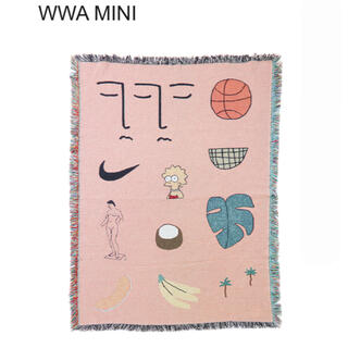 ロンハーマン(Ron Herman)の【新品】BFGF ミニブランケット WWA MINI(ラグ)