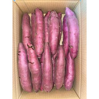 さつまいも【紅はるか】5kg1箱 Mサイズ A品 茨城県鉾田市産(野菜)