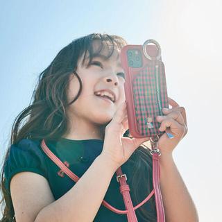 familiar - ファミリア ajew コラボ iPhoneケース red