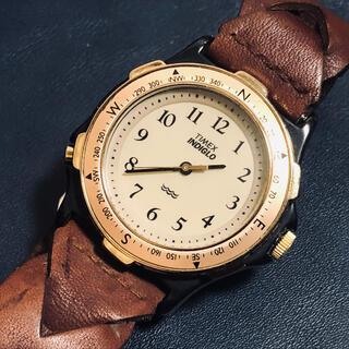 タイメックス(TIMEX)のTIMEX INDIGLO 376MACELL アンティーク腕時計(腕時計(アナログ))