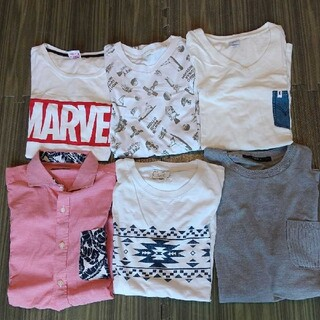 エドウィン(EDWIN)の*メンズTシャツ*まとめ売り*6枚*Mサイズ*(Tシャツ/カットソー(半袖/袖なし))