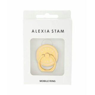 ALEXIA STAM - 【新品】ALEXIASTAM サークルスマートフォンリングホルダー スマホリング