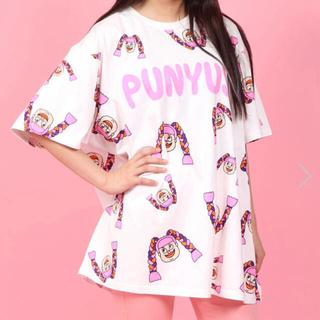 プニュズ(PUNYUS)の【PUNYUS】NAOMIちゃん 総柄Tシャツ(Tシャツ(半袖/袖なし))
