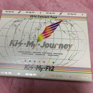 キスマイフットツー(Kis-My-Ft2)のキスマイ Journey 初回限定盤DVD(アイドル)