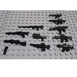 10 レゴ 互換 武器 LEGO インスタ映え プレゼント 戦争 銃 兵士 (ミリタリー)