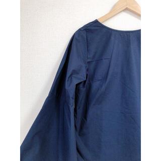 レイビームス(Ray BEAMS)のRay BEAMS 2way ブラウス 濃紺(シャツ/ブラウス(長袖/七分))