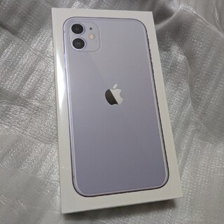 iPhone - 【新品未開封】 iPhone11 パープル SIMフリー