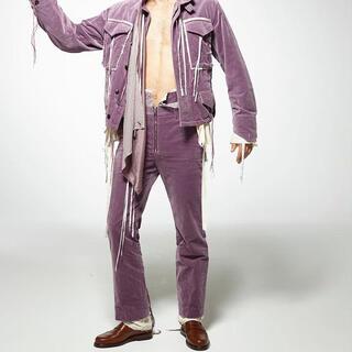 ラフシモンズ(RAF SIMONS)のmidorikawa velvet pants(その他)