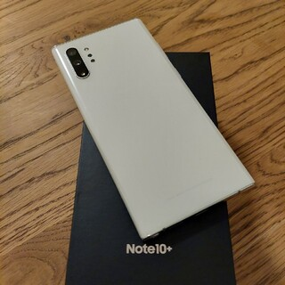 SIMフリー 美品 GALAXY NOTE10+ 256GB